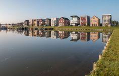 Villa voor Trompettist Almere NL | Arc2 architecten Innovative Architecture, Architecture Office, Fields, River, Landscape, Outdoor, Design, Outdoors, Outdoor Games