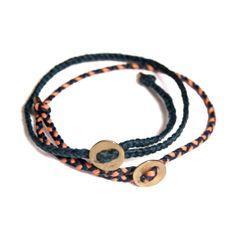 Simple Wax Bracelet found on Zady