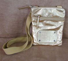 Juicy Couture Gold crossbody bag purse handbag messenger for girl who like stuff #JuicyCouture #MessengerCrossBody