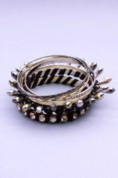 Gold Multi Rhinestone Faceted Beaded Bangle Bracelets Diamond Earrings For Women, Bangle Bracelets, Bangles, Women's Earrings, Silver Rings, Gold, Jewelry, Bracelets, Bracelets