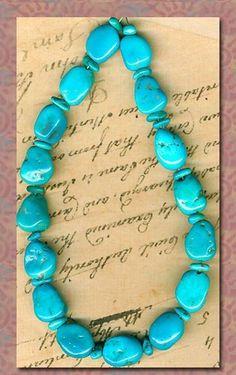 Sleeping Beauty Turquoise Beads 2 Sizes Up to 13mm Genuine Globe Arizona USA | eBay