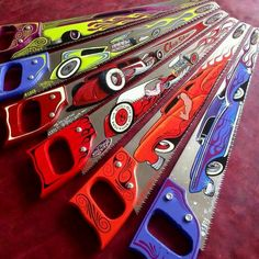 Scenes for Painting Saw Blades | painted saw blades, damn... very nice