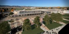 Colorado State University - Lory Student Center in fort Collins, Colorado by P+W