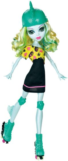 Monster High Roller Maze Lagoona Blue Doll - Free Shipping