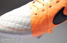 Nike Football Boots - Nike Tiempo Legend V SG-Pro - Soft Ground - Soccer Cleats - Desert Sand-Black-Orange