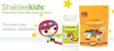 Shaklee kids nutrition helps make kids Super Smart, they're Super Safe and Super Nutritious!