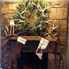 Rustic Christmas  Love this wreath!  I'm going to do this one too!  Have plenty of sheds around.
