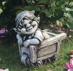 WILLKOMMEN Deko R/_009b Gartenfigur AFFEN