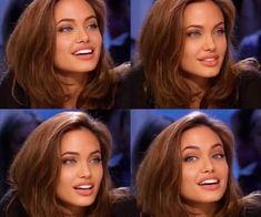 Angelina Jolie Makeup, Angelina Jolie Photos, Angelina Jolie Hairstyles, Angelina Jolie Blonde, Angelina Jolie Young, Beauty Makeup, Hair Makeup, Hair Beauty, 90s Makeup
