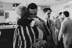 After reception hug with mama ❤️
