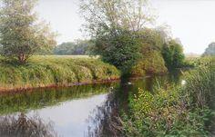 David Smith - River Chelmer, Essex  Baron Fine Art Gallery