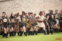 Batalla de las fiestas de CARTHAGINESES Y ROMANOS, año 2013