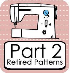 michellepatterns.com — Retired Patterns - Part 2