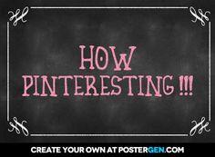 How Pinteresting!!!