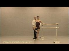 Online Ballet -this one is on proper ballet posture. many other online ballet classes on this you tube channel!