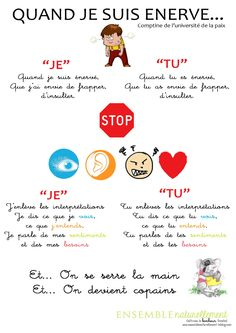 comptine French Teaching Resources, Teaching French, Anger Management, Classroom Management, Learn French, Positive Attitude, Primary School, Problem Solving, Kids And Parenting