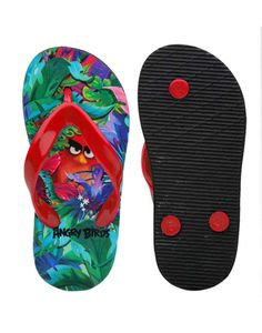 25f81199b651 Buy Angry Birds Green   Red Boys Flip Flops   Best Price In India Boys Flip