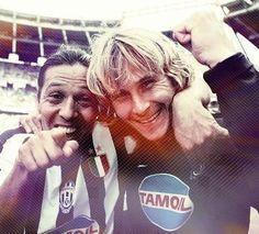 Mauro Camoranesi & Pavel Nedved being hilarious