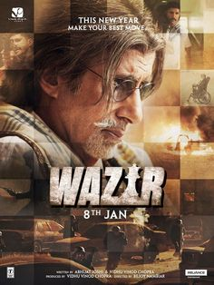 Amitabh Bachchan | An Organized Rampage of a Thriller, WAZIR Delivers http://www.fallinginlovewithbollywood.com/2016/01/an-organized-rampage-of-a-thrliler-wazir-delivers.html