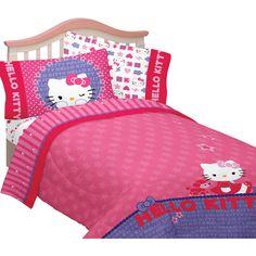 Hello Kitty Microfiber Kitty & Me Twin/Full Bedding Comforter - Walmart.com