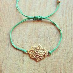 Special Design Hamsa  Fatima Hand  Bracelet by ALBINAJEWERLY, $12.00 #hamsahand #fatimahand #bracelet #etsy #bileklik #fashion #diy #handmade
