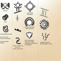 Arcturian healing symbols