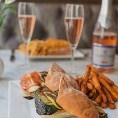 Criollo's lunch menu offers a large variety of incredible sandwiches. Treat yourself to one this week. #NOLA #HotelMonteleone