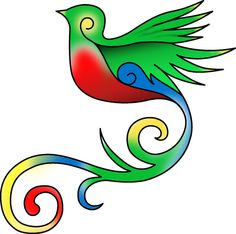 A quetzal.  A reminder of our honeymoon, Guatemala, wildlife and I think this would be the bird to represent me.