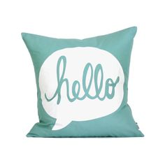 Hey, I found this really awesome Etsy listing at http://www.etsy.com/listing/130221848/hello-pillow-cover-16x16-silk-screen