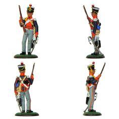 """Teniente de 14 de Dragones ligeros - 1812 (Colección """"Soldados de las Guerras Napoleónicas"""" editada por delPrado - 60 mm)"""