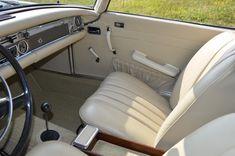 Mercedes-Benz SL 280 white leather