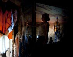 Estrella del deserto, 2011, Galeria de Art de la Fundacion Minera Escondida, Antofagsta, Cile.