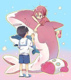 Rin/Haru FTW
