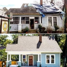 A House Ideas New Homes Layout Building A House Hacks Woods Home Exterior Makeover, Exterior Remodel, Small House Renovation, Small House Exteriors, Cheap Houses, Home Budget, House Siding, Home Inspection, Farmhouse Plans