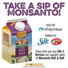 Did you know Land O'Lakes is spending $1.28M against your right to know about GMOs? Tell them you don't want a sip of Monsanto milk on their Facebook page: https://www.facebook.com/LandOLakes. View anti-GMO labeling funding here: http://bit.ly/1CIQDXO #GMOs #food #righttoknow #yeson105 #yeson92