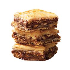 Chocolate Baklava. Are you kidding me? Didn't think Baklava could get even Better.