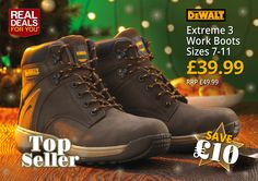 Dewalt Extreme 3 Work Boots (Brown)  size 8: http://www.tradingdepot.co.uk/DEF/product/!!XMS14BOOT8!!/  Size 9: http://www.tradingdepot.co.uk/DEF/product/!!XMS14BOOT9!!/  Size 10: http://www.tradingdepot.co.uk/DEF/product/!!XMS14BOOT10!!/