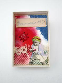 mano kellner, art box nr 198, rosemarie pflückt blumen