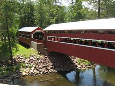 Outta the Way: Twin Covered Bridges
