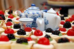 Chá de cozinha clássico casamento romântico - detalhes doce xícara (Foto: Ruy Hyutazu)