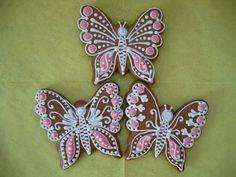 Motýli , ostaní, perníky | perniky.artmama.cz Sugar Cookies, Sugar Cookie Bars