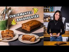 🍌Cukormentes BANÁNKENYÉR🍌 - YouTube Banana Bread, French Toast, Beverages, Breakfast, Youtube, Food, Seasons, Morning Coffee, Essen