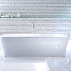 Attractive Bathroom Design With Duravit Starck Ceramics And Starck Freestanding Bathtub.  Design By Carmen R. Torribio   Duravit Inspirations   Pinterest   Duravit,  ...