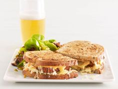 Tofu Reubens With Salad Recipe : Food Network Kitchen : Food Network - FoodNetwork.com