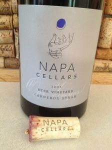 Napa Cellars Reserve Wines ~ small production wines by Joe Shirley | Review by Eileen Gross | Wine Everyday