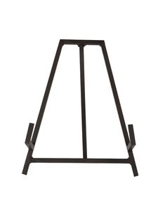 Simple and modern, the Studio Display Easel is made to hold anything from platters to art. Its antique brown hue looks great wherever it's placed, complementing whatever it holds in its slim metal arms. Decorative Objects, Decorative Pillows, Tidy Kitchen, Organized Kitchen, Kitchen Things, Kitchen Ideas, Kitchen Design, China Storage, Display Easel