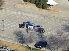 Bad parking punishment! Do not park like you own the place. Justices or worst day ever? #ShouldHaveParkedAtJoes