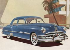 1951 Pontiac Chieftain Eight Deluxe Four Door Sedan
