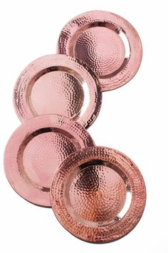 Amazon.com: Sertodo Charger Plate, 12 inch round, Hammered Copper: Copper Platter: Kitchen & Dining