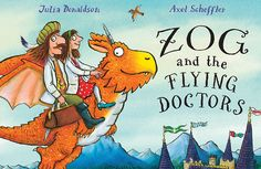 The bestselling author of The Gruffalo on why she's written a sequel for another of her favourite characters, Zog Asa parent, it?s a rare thing to find a kids? book you love to read as much as your children, and that?s exactly what you get...